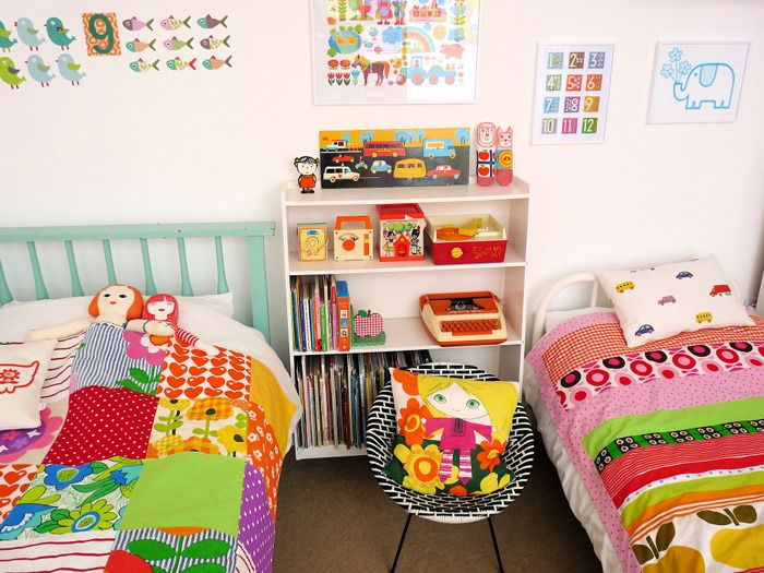 10 Sources for Scandi-Style Kids Bedding