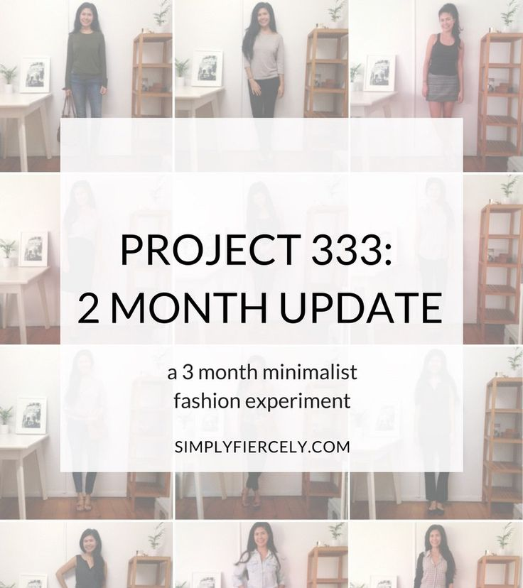 I'm participating in Project 333, a minimalist fashion experiment where I only wear 33 items for 3 months. Here is my 2 month update with outfit photos. #minimalism #simpleliving #project333