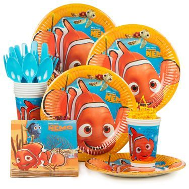 Search the quality Finding Nemo party supplies & balloons, invitations, favors and decorations for Pixar themed parties and save with our reduced wholesale prices!