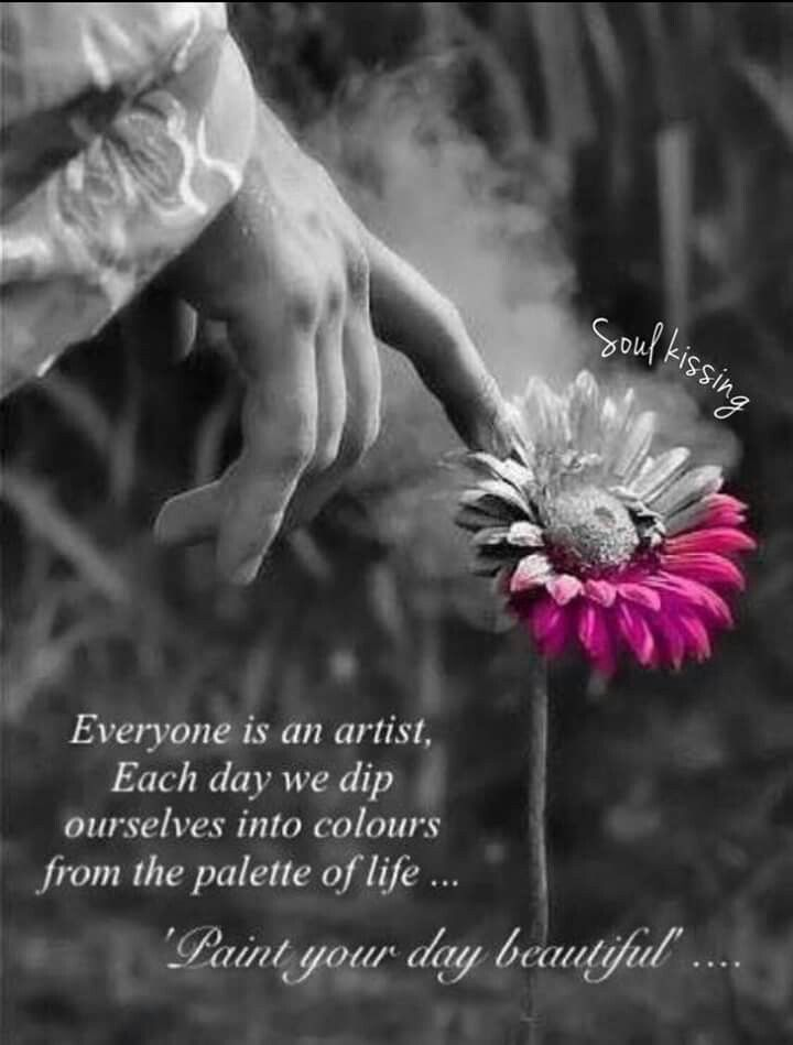 Paint your life beautiful!