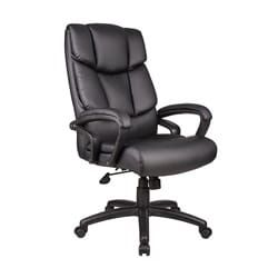 Shop for Boss Italian Top Grain Leather Executive Chair. Get free delivery at Overstock.com - Your Online Office Furniture Store! Get 5% in rewards with Club O! - 11305890