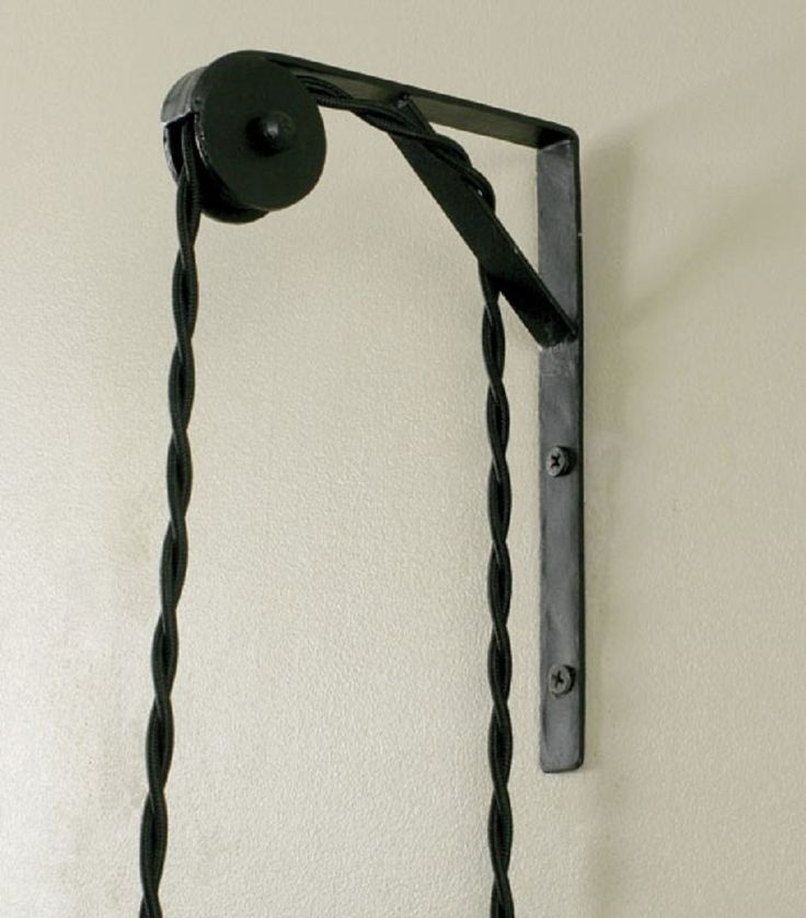 Wall Mount Pulley For Pendant Lamps Floor Lamps Amazon