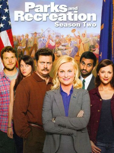 Parks and Recreation: Season Two [4 Discs] [DVD]