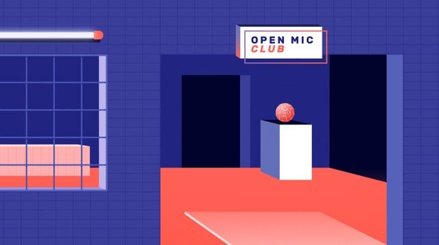 Excerpt from Going for a Song, an explainer video introducing young musicians into the complex world of music copyright.  Produced by Worth Knowing for the platform www.copyrightuser.org  Open Mic Night: animation by Sophie Natta  Going for a Song: animation by Marco Bagni