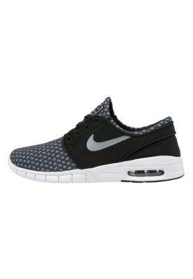 Nike SB - STEFAN JANOSKI MAX - Sneakers laag - black/metallic cool grey/white