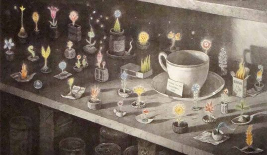 From 'Tales From Outer Suburbia' by Shaun Tan