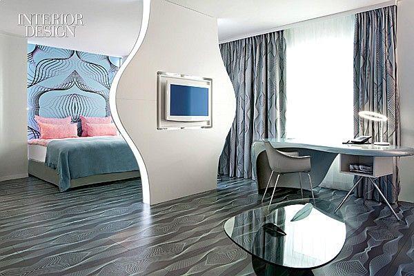 Into the Groove: Karim Rashid's Nhou Berlin Hotel | Projects | Interior Design