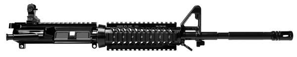 AR-15 16' DTI M4 4 Rail Barrel Assembly w/ Flip Up Rear Sight