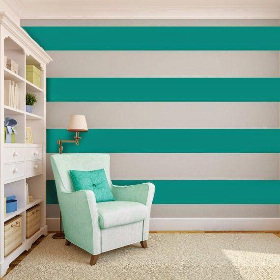 Красивый дом: Полосатые стены