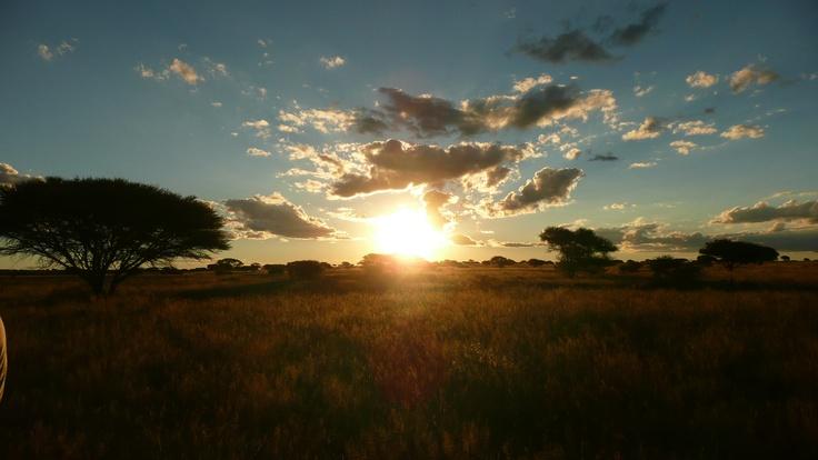 Sunset at Kamfers Dam, Kimberley South Africa