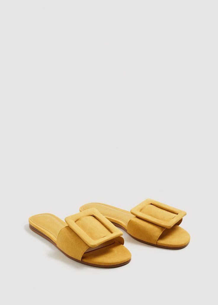 Buckle flat sandals -  Women | MANGO USA
