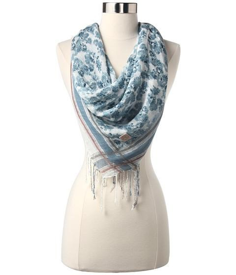 Free Shipping on all orders! Lightweight, elegant, and effortlessly stylish, you don't want to be seen without wearing this lovely Diesel scarf this season! ; Floral pattern throughout....