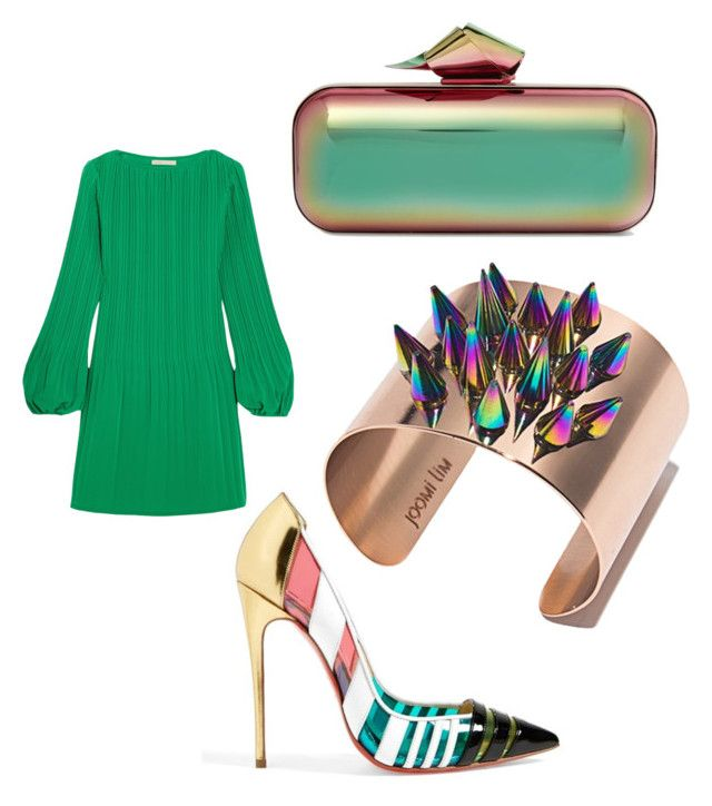 """Untitled #2"" by explorer-14914695547 on Polyvore featuring Jimmy Choo, Christian Louboutin, Maje and Joomi Lim"