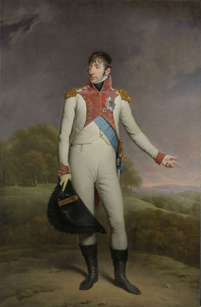 HODGES, CHARLES HOWARD  - Portrait of Louis Napoleon, King of Holland, 1809