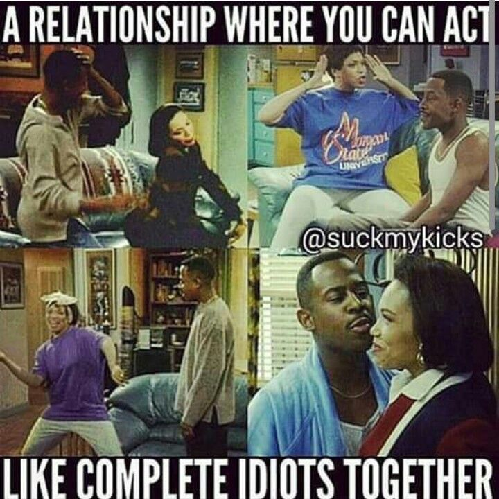 Those are the best relationships. (Martin and Gina)