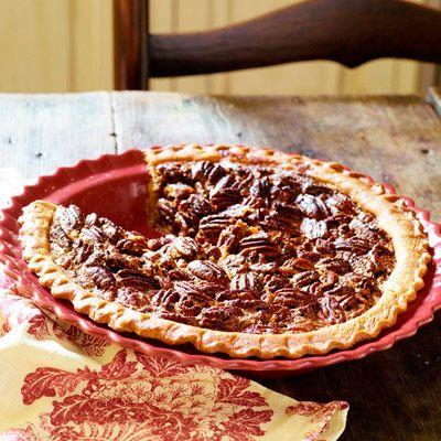 Dark Rum Pecan Pie #pecanpie
