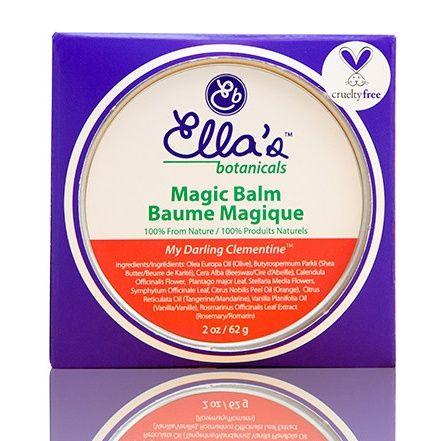 Magic balm that cures sun- and wind-burn