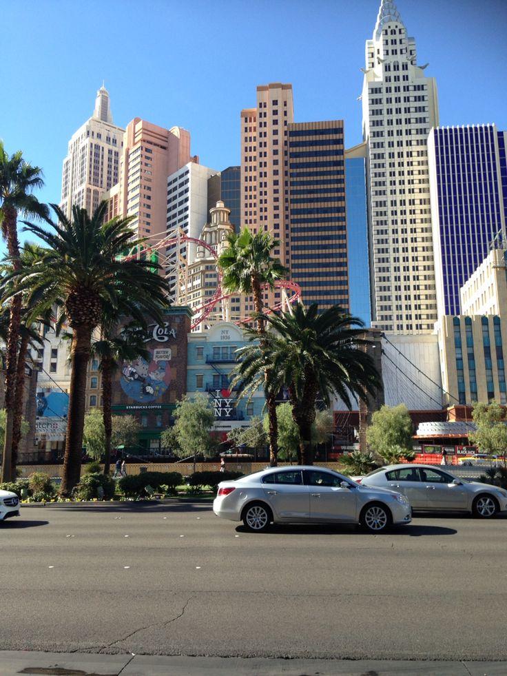 New York, New York, Las Vegas.