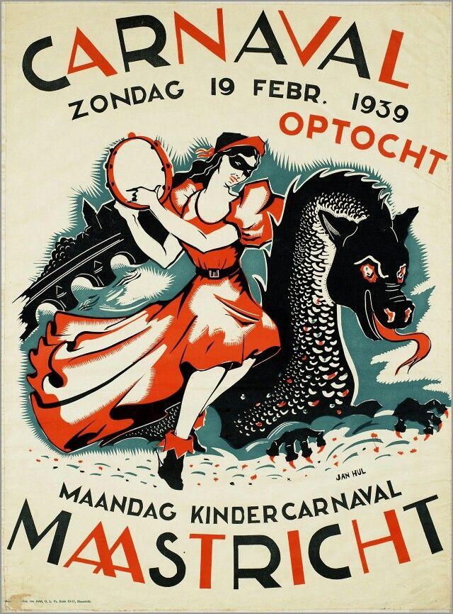 Voor carnaval in Maastricht 1939