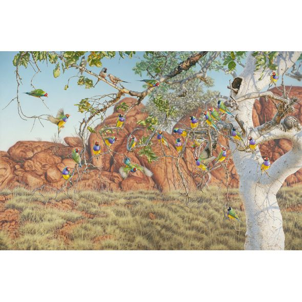 Family Tree | Limited Edition Fine Art by Greg Postle #theorigincollection #artist #gregpostle