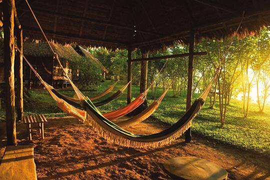 (tal vez por acá también) Inkaterra Reserva Amazonica, Tambopata National Reserve, Peru.