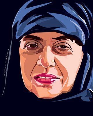 Kamala Surayya | © Sreedharantp at Malayalam Wikipedia/WikiCommons
