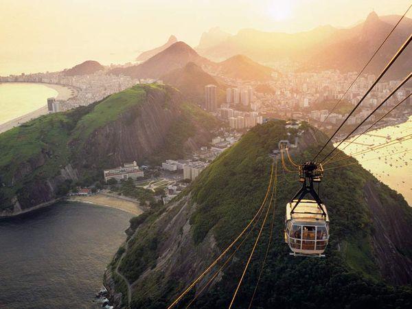 Pão de Açucar (Sugarloaf Mountain) - the cable car tour, #Rio de Janeiro - Brasil / Brazil