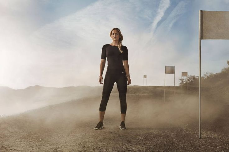 Under Armour Campaign Photos - Misty Copeland, Kelley O'Hara and Lindsey Vonn for Under Armour - Elle