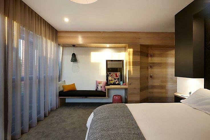 The Block 2014 Steve & Chantelle Master Bedroom...pillows & curtains