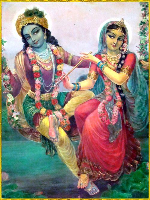 ☀ ♥ RADHA KRISHNA ♥ ☀ Artist: Vasudeva Krishna das