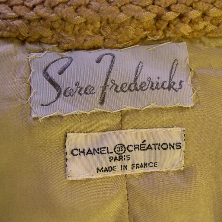 12 best images about vintage couture clothing labels on for Couture labels