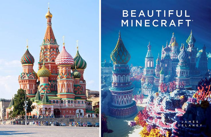 Amazing Minecraft Constructions Created with Billions of Blocks  A beautiful and rare book about the art of Minecraft published under No Starch Press. Billions of blocks compose these marvelous images transforming Minecraft in a true art. 112 pages to discover the world of game-creation.           #xemtvhay