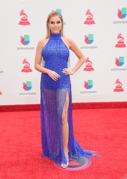 Daniela di Giacomo attends the 18th Annual Latin Grammy Awards at MGM Grand Garden Arena on November 16, 2017 in Las Vegas, Nevada.