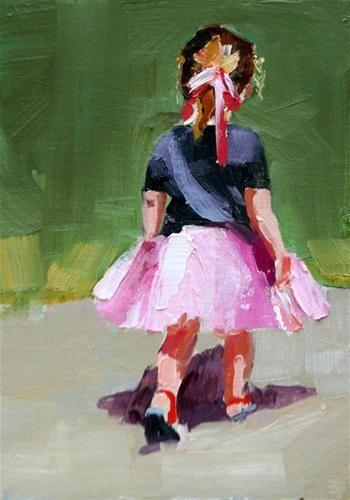 """tutu cute"" - Original Fine Art for Sale - © carol carmichael"