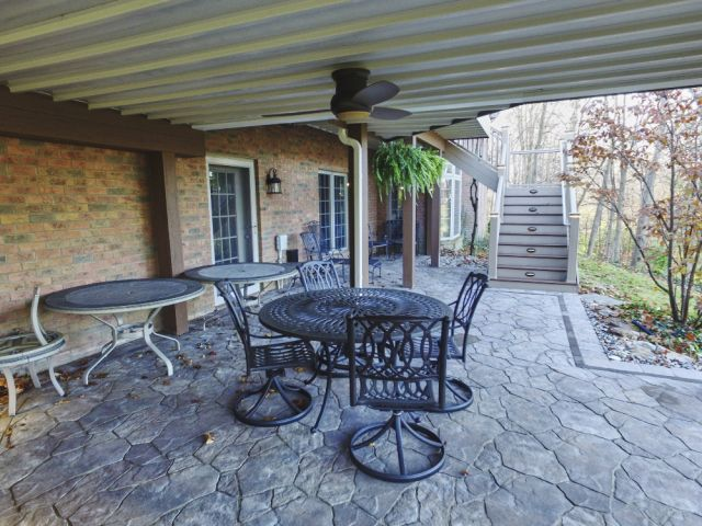 under deck patio ideas no step out of basement door rather off of the patio under - Patio Ideas Under Deck