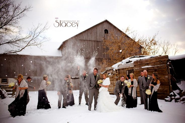 Winter Wedding in Bruce County