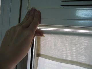 Colgar unas cortinas sin hacer agujeros como hacer ideas de bricolaje mi cuarto pinterest - Como colgar unas cortinas ...