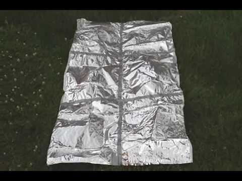 Potato Chip Bag Emergency Reflective Blanket