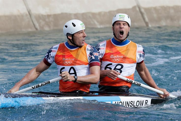 Silver for Hounslow and Florence in C2 canoe slalom