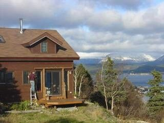 Emmashill Bonne Bay House, environmentally responsible cabin