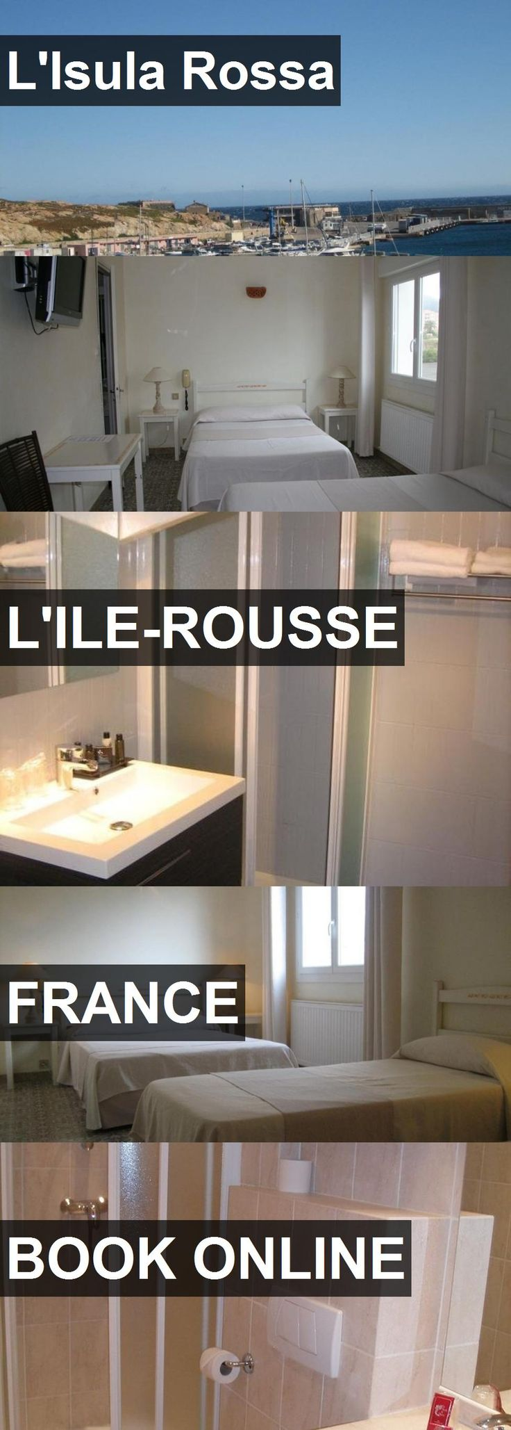 Hotel L'Isula Rossa in L'Ile-Rousse, France. For more information, photos, reviews and best prices please follow the link. #France #L'Ile-Rousse #L'IsulaRossa #hotel #travel #vacation