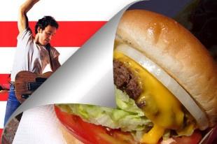 """Hamburger """"Born in the U.S.A."""" - Ricette Rock"""