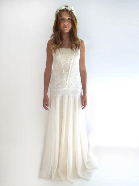 GRACE Spitze Flapper Hochzeitskleid  von Rose Voila auf DaWanda.com