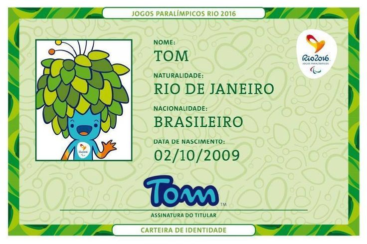 Rio 2016 Olympic and Paralympic mascots named Vinicius and Tom by public vote