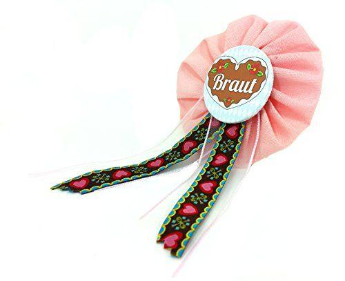 AnneSvea Orden - Braut Orden rosa rot Herz Madl Bride to be Oktoberfest JGA JungegesellinnenabschiedButton Geschenk AnneSvea http://www.amazon.de/dp/B015EVKBR6/ref=cm_sw_r_pi_dp_Ufq-vb0HDSM2R