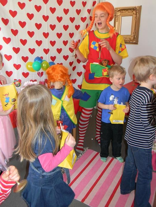Pippi Longstocking themed party via Sara's Party Perfect