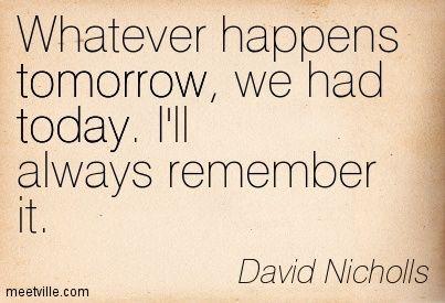 'One Day' David Nicholls