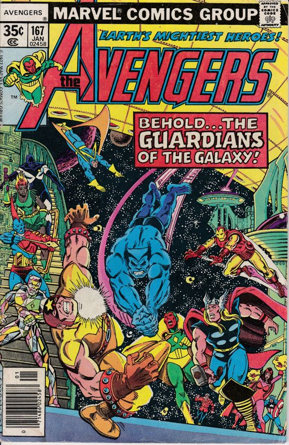 Avengers 167 January 1978 Issue Marvel Comics by ViewObscura