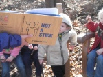 """Not a Stick"" by Antoinette Portis is inspiration for wild nature play...well, that and all the sticks we find!"
