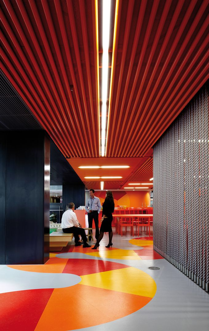 inspiring office design anz melbourne canteen breakout Inspiring Office Design   The Worlds Best Office Interiors   No. 6 ANZ, Melbourne